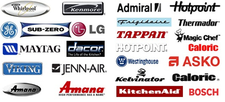 appliance repair brands